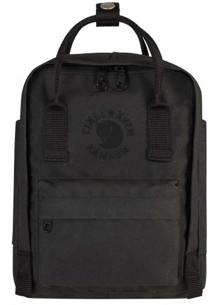 black - Fjällräven Re-Kanken Mini