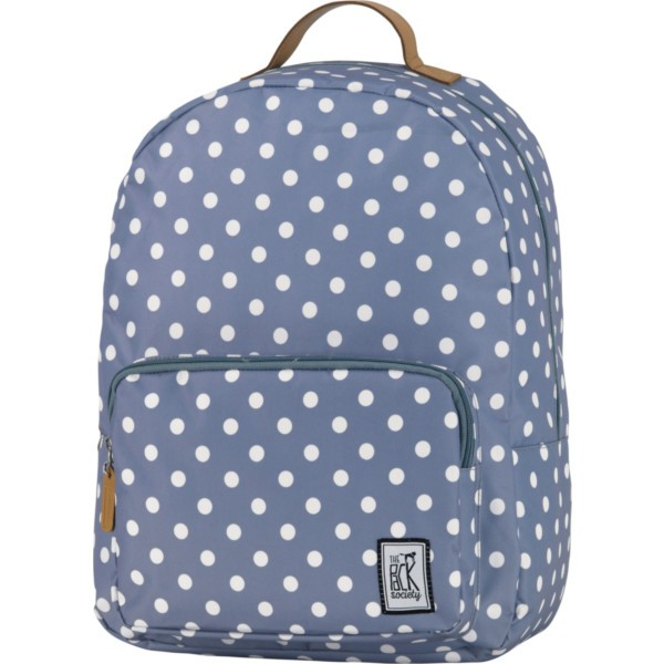 grey with white dots allover - The Pack Society Backpack Cool Prints