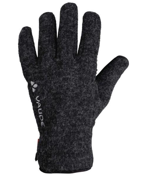 phantom black - Vaude Rhonen Gloves IV