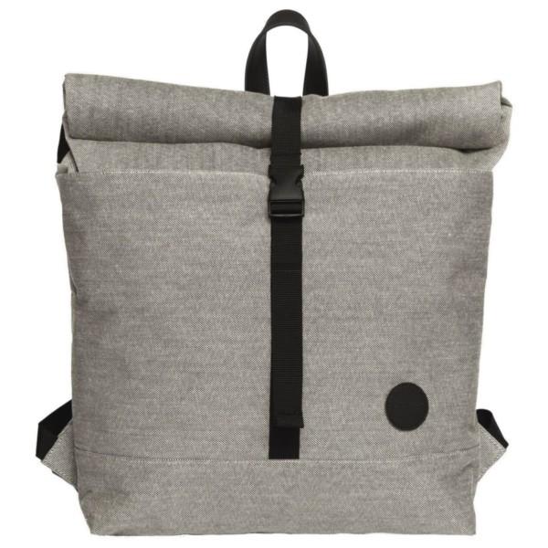 melange black - Enter LS Roll Top Backpack