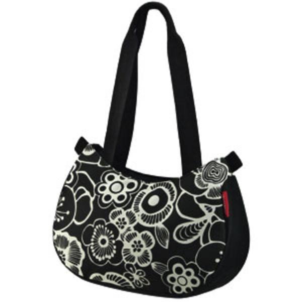 fleur schwarz - KLICKfix Stylebag