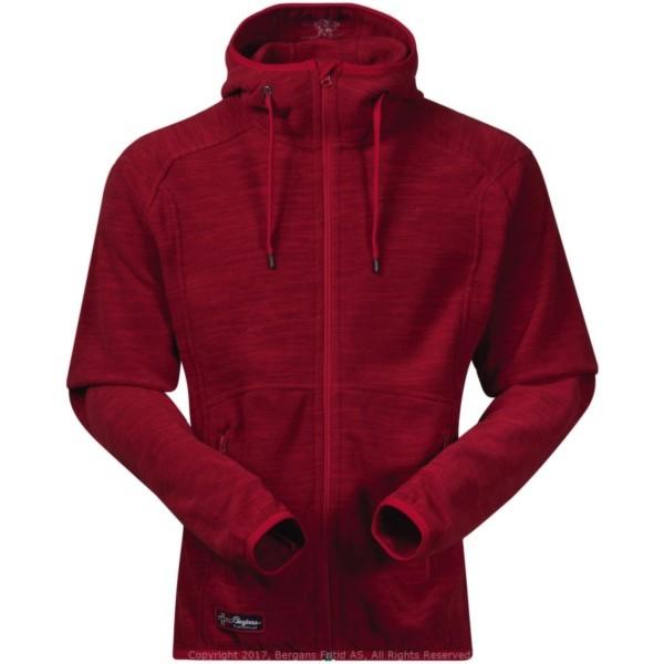 red melange - Bergans Hareid Jacket