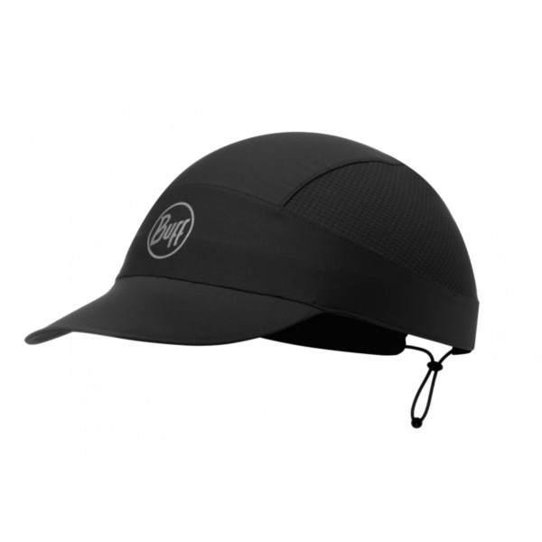 r-solid black - Buff Pack Run Cap Buff