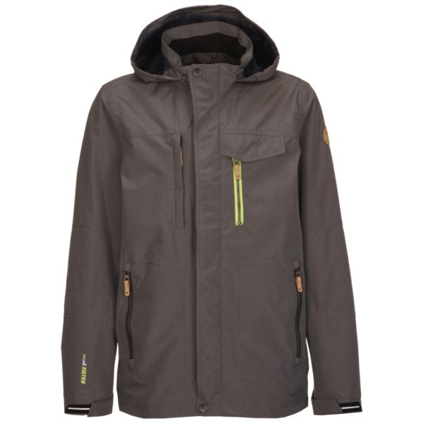 mittelgrau - Killtec Rayder Jr. Outdoorjacke