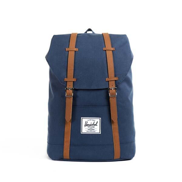 navy/tan - Herschel Retreat Backpack