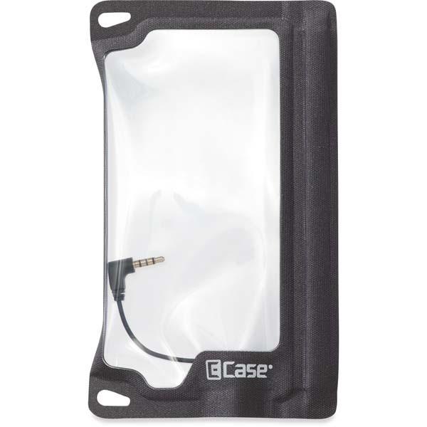 black - E-Case eSeries 9 Schutztasche für Handys mit Buchse