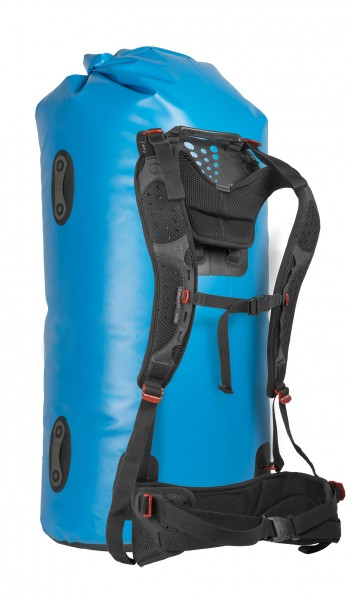 blue - Sea to Summit Hydraulic Dry Bag 120 L mit abnehmbarem Rückenpanel