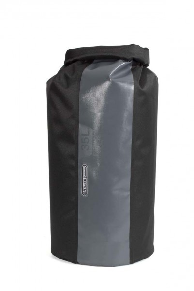 schwarz-dunkelgrau - Ortlieb Packsack PS490, 35 L, ohne Ventil