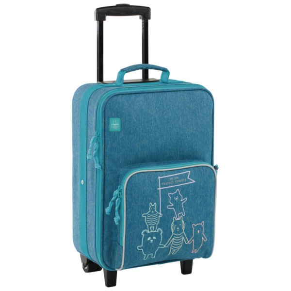 About friends mélange blue - Lässig 4Kids Trolley