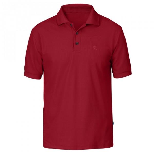 deep red - Fjällräven Crowley Piqué Shirt M