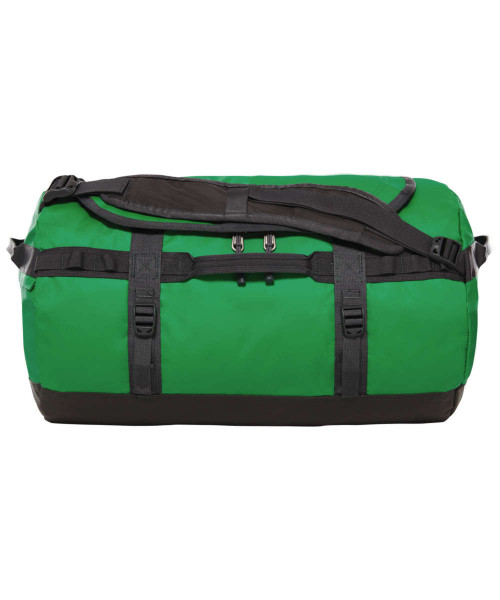 primary green/asphalt grey - The North Face Base Camp Duffel S