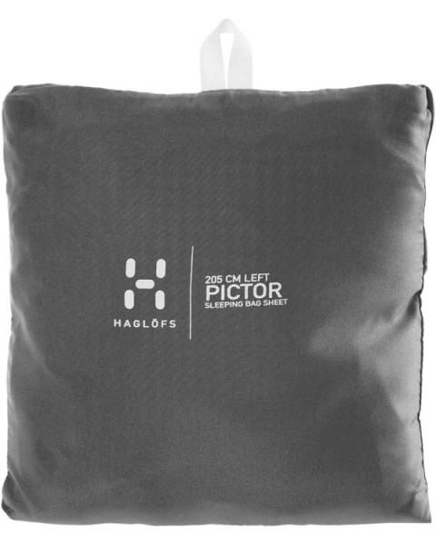 magnetite - Haglöfs Pictor Sleepingbag Sheet