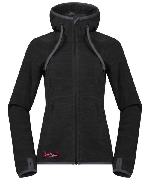 solidcharcoal mel/soliddkgrey - Bergans Hareid Lady Jacket