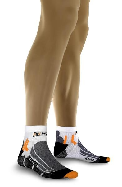 white/black - X-Socks Biking Ultra Light