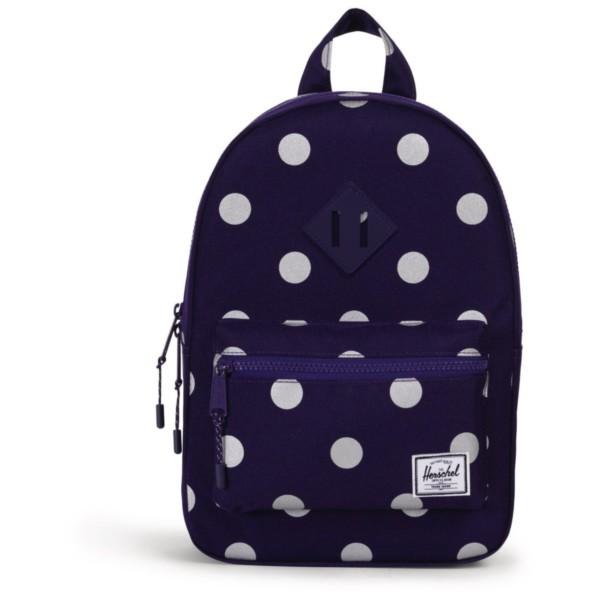 parachute purple polka dot/parachute purple - Herschel Heritage Kids