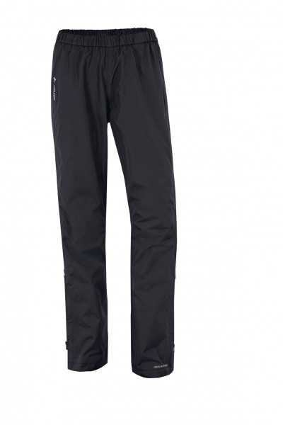 black - Vaude Women Fluid Full-Zip Pants