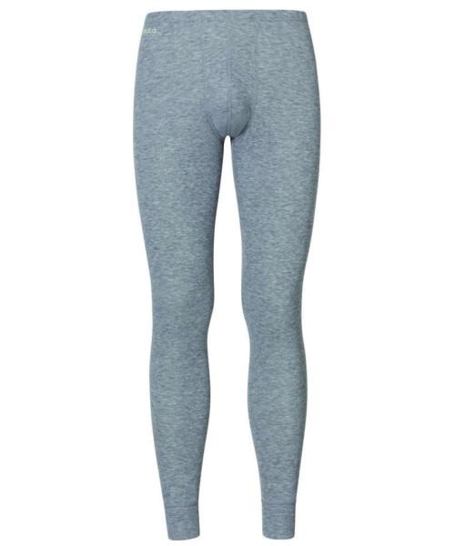 grey melange - Odlo Men Pants Long Warm
