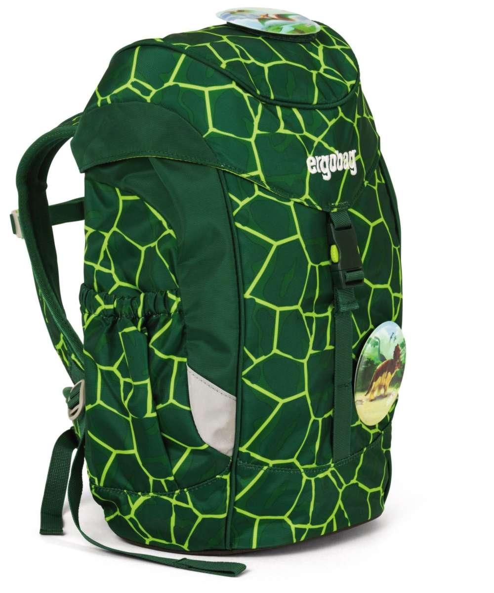 ergobag mini Kinderrucksack bärrex (lava grün)