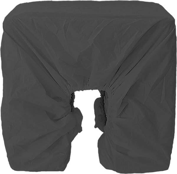 schwarz - Haberland Regenschutz für Dreifachtasche RSET03