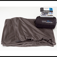 charcoal - Cocoon Coolmax Travel Blanket