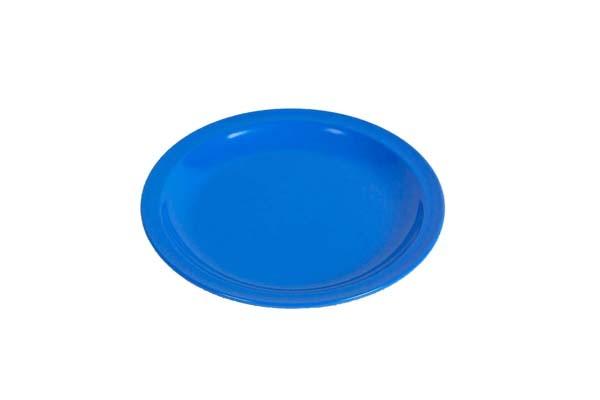 blau - Waca Melamin Kuchenteller, Durchmesser 19,5 cm