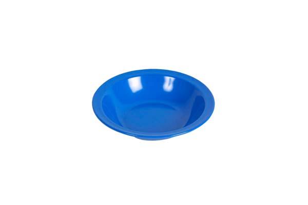 Waca Melamin Teller tief, Durchmesser 20,5 cm blau