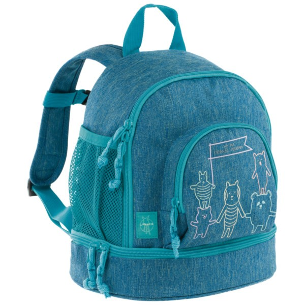 About friends mélange blue - Lässig 4Kids Mini Backpack