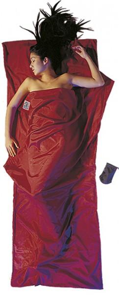 monks red - Cocoon Travel Sheet Seide-Baumwolle