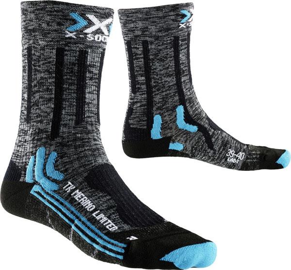 X-Socks Trekking Merino Limited Lady grey/black 4 (41-42)