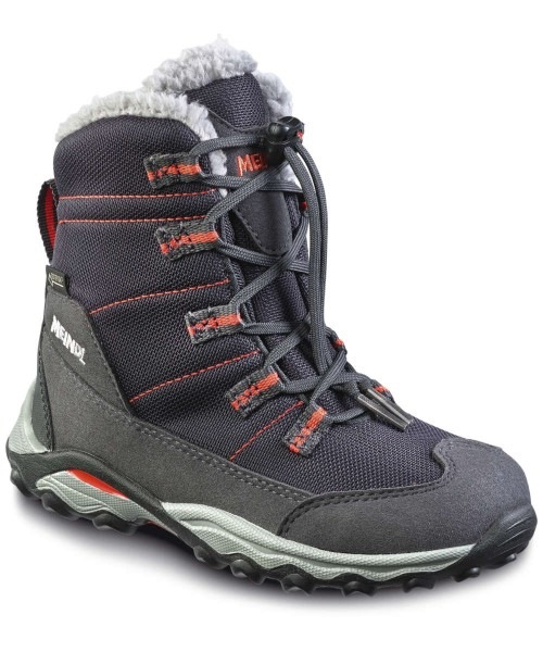 schwarz/orange - Meindl Yolup Junior GTX