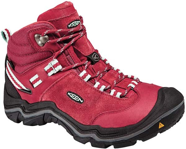 chili pepper/gargoyle - Keen Wanderer Mid WP Womens