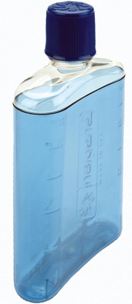 blau - Nalgene PC-Flachmann 300 ml