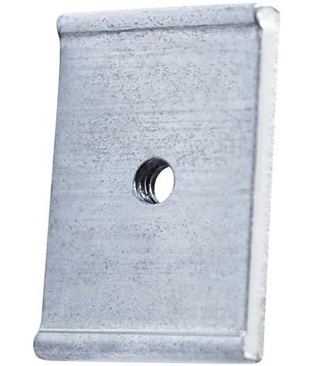 Vaude Gewindeplatten für QMR-Haken ( Paar )