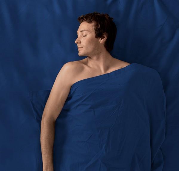 navy blue - Sea to Summit Premium Cotton Travel Liner Mummy with Hood