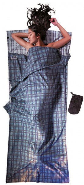 forest - Cocoon Travel Sheet Baumwolle Flanell