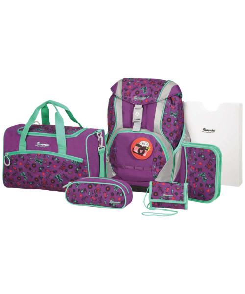 doodle purple