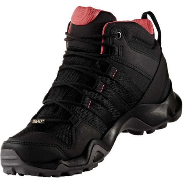 core black/core black/tactile pink - adidas Terrex AX2R Mid GTX W