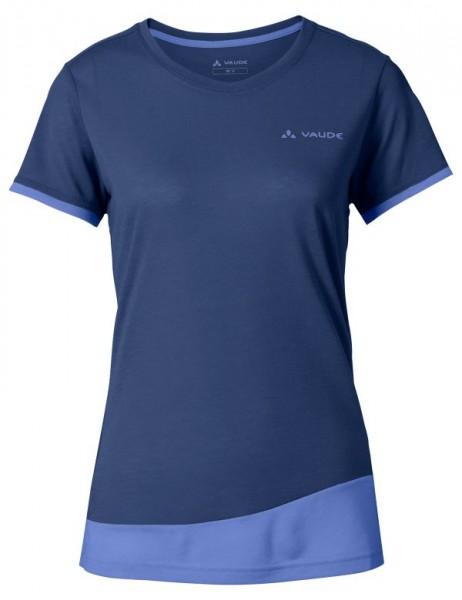sailor blue uni - Vaude Women Sveit T-Shirt