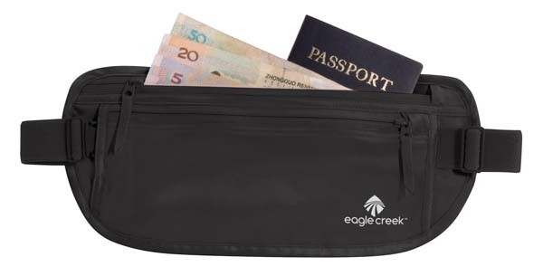black - Eagle Creek Silk Undercover Money Belt