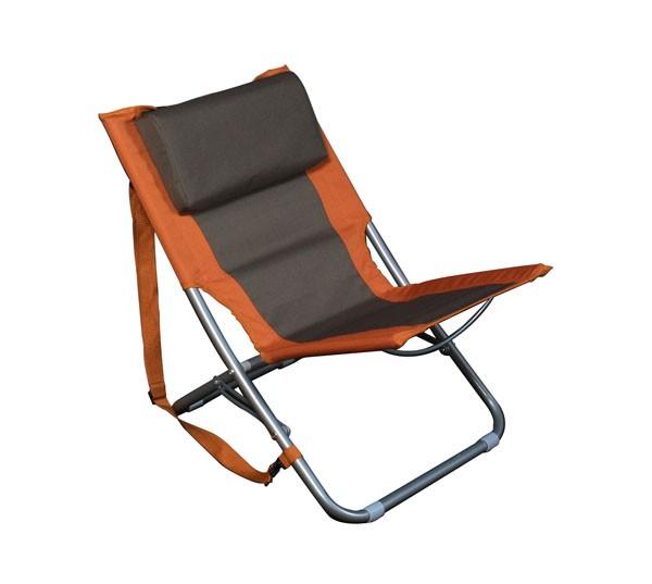 Relags Travelchair Beach orange braun