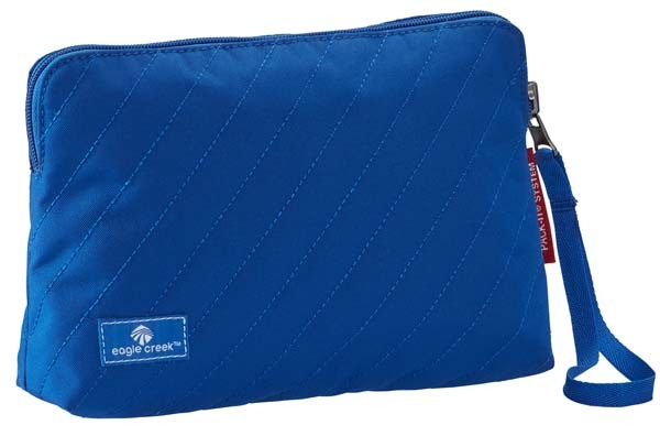blue sea - Eagle Creek Pack-It Quilted Reversible Wristlet