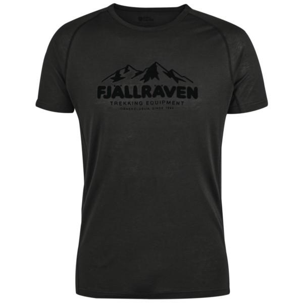 dark grey - Fjällräven Abisko Trail T-Shirt Print