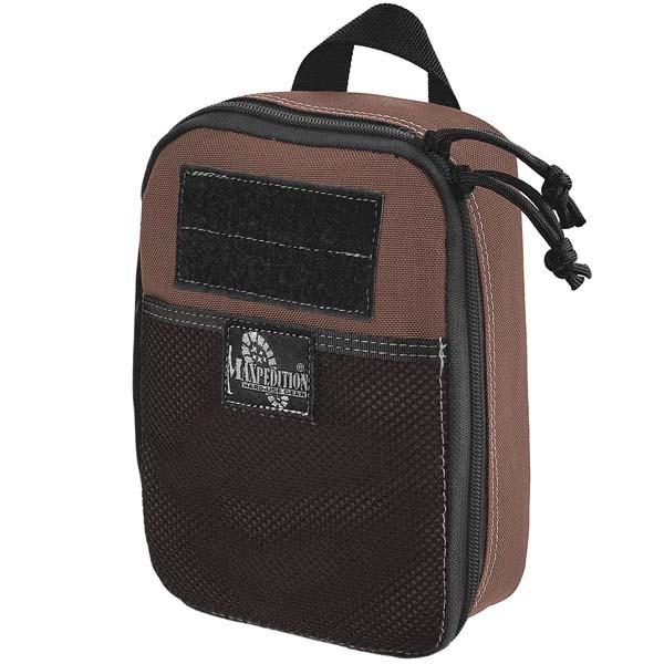 dark brown - Maxpedition Beefy Pocket Organizer