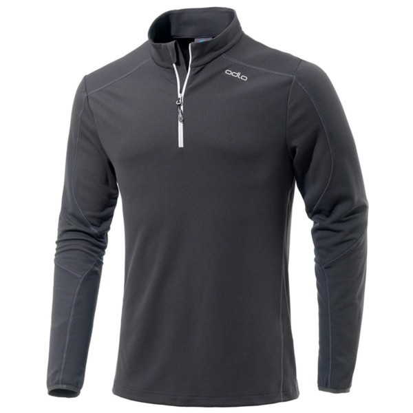 odlo graphite grey - Odlo Men Midlayer 1/2 Zip La Molina