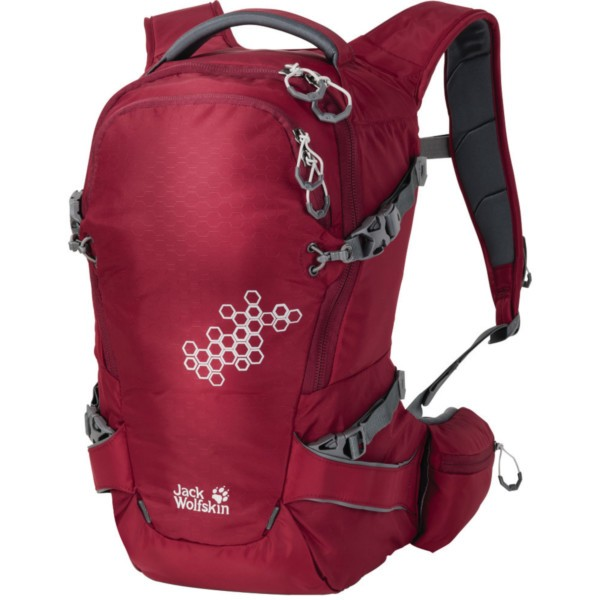 dark red - Jack Wolfskin White Rock 16 Pro Pack