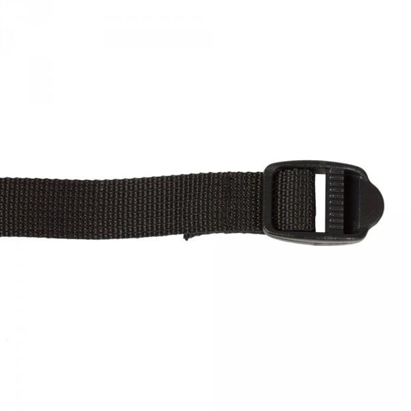 schwarz - Ortlieb Spanngurte Ladderlock (Paar)