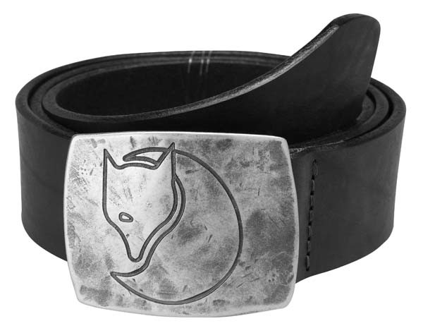 black - Fjällräven Murena Silver Belt