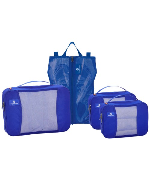 blue sea - Eagle Creek Pack It Original 4 Wheel Carry-On Set