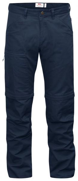 navy - Fjällräven High Coast Zip-Off Trousers
