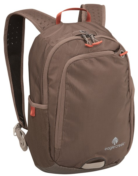 brown - Eagle Creek Travel Bug Mini Backpack RFID